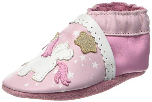 RobeezNICE PONY - Scarpine e pantofole primi passi  Unisex - Bimbi 0-24 , Rosa (Pink (133)), 21/22