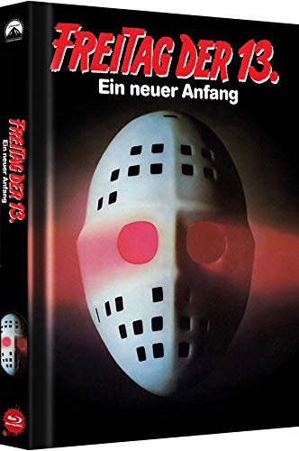 Freitag, der 13. - Teil 5: Ein neuer Anfang - Collector's Edition - Mediabook (Cover B) [Blu-ray]
