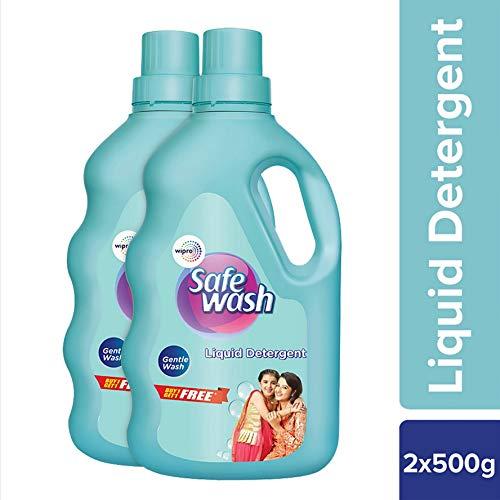 Safewash Liquid Detergent 500 g + 500 g