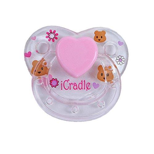 Pursue Baby 1pcs / Set Chupete magnético Hecho a Mano I Cradle para Reborn Baby Doll, muñeco Lindo pezón magnético para muñeca Artista