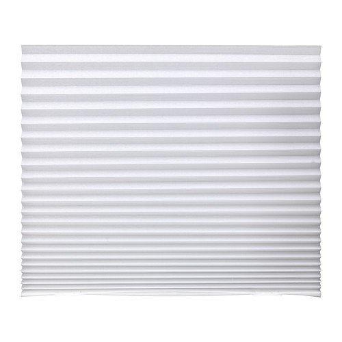 Ikea Schottis, tenda oscurante pieghettata, colore: bianco,...