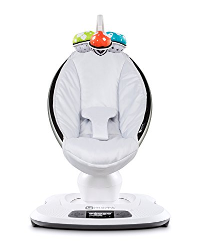4moms 15672 mamaRoo 3D – Babywippe Classic, Classic Grey
