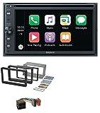 caraudio24 Sony XAV-AX205DB MP3 DAB USB 2DIN DVD Bluetooth Autoradio für Alfa Romeo 159 Spider Brera ab 05 Navi