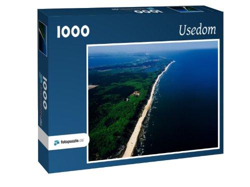 Preisvergleich Produktbild Usedom - Puzzle 1000 Teile mit Bild von oben