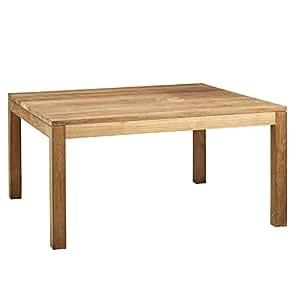 Emotion Table de repas carrée en Teck recyclé - 145x145 cm Marron - Al