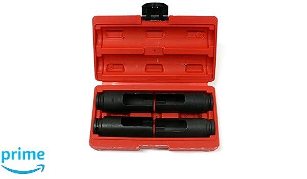 """4pc Diesel Injector Nozzle Socket Set 1//2/"""" Drive Siemens Bosch 25 27 29 30mm"""