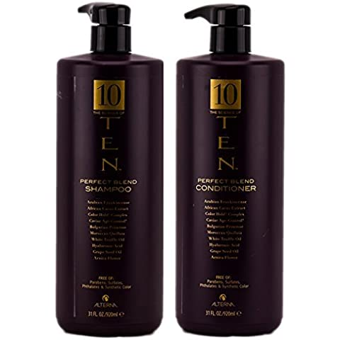 Alterna The Science of Ten Perfect Blend Shampoo & Conditioner