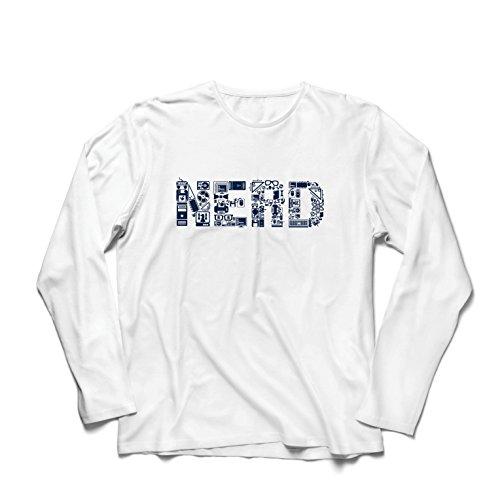 lepni.me Herren T Shirts Nerd - Programmierer oder Gamer lustige Geschenkidee (Large Weiß Mehrfarben)