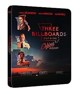 Tre Manifesti a Ebbing, Missouri - Steelbook (Blu-Ray)