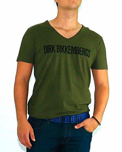 bikkembergs-tshirt-dirk-bikkembergs-army-black-logo-2xl-verde
