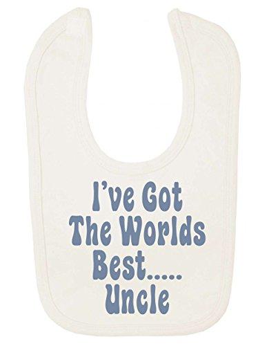 Ive Got The World's Best Uncle Funny Bavoir pour bébé
