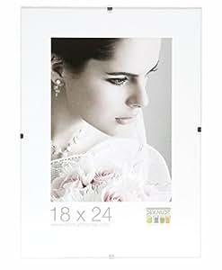 Deknudt Frames S200M9 Cadre Photo sous Verre en Verre Mat 10 x 15 cm