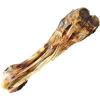 Kalbsunterbein Rinderknochen 3 Stk. ca. 25cm Dogreform der Kauknochen ist ca. ca. 25cm lang Ein natürlicher Zahnsteinentferner für den Hund getrocknet Hundeknochen groß