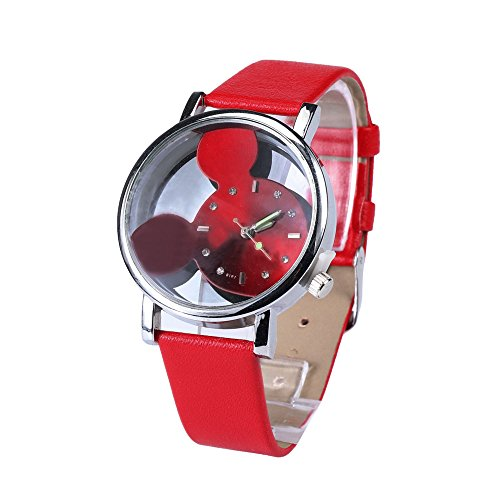 Uhren Damen Armbanduhr Frauen Beiläufige Kunstleder Uhrenarmband Exquisit Uhr Wrist Watch Quarz Analoge Armbanduhr Exquisit Uhr Wrist Watch,ABsoar