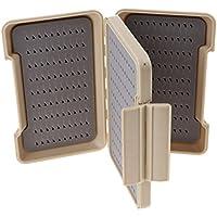 FLAMEER Cajas del Señuelo De La Pesca Cebo De Plástico De Los Trastos, Mini Caja del Señuelo para El Chaleco, Envases