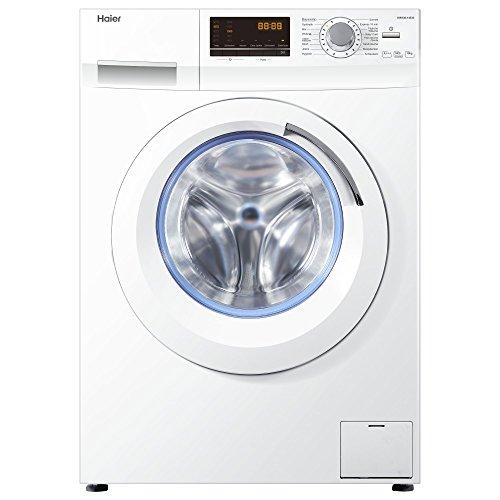 Haier HW100-14636 Waschmaschine FL / A+++ / 220 kWh/Jahr / 1400 UpM / 10 kg / Aqua Protect Schlauch...