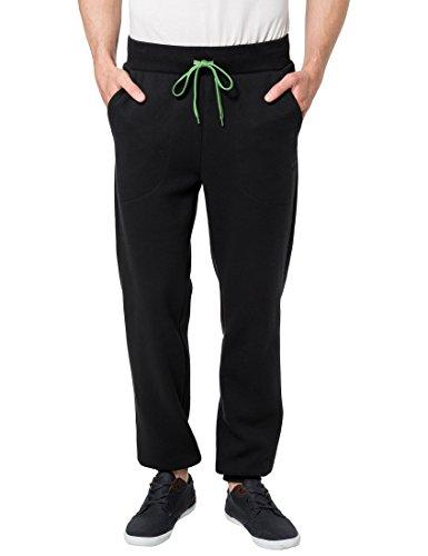 Ultrasport Release - Pantalones deportivos para hombre, color negro / verde, talla XL