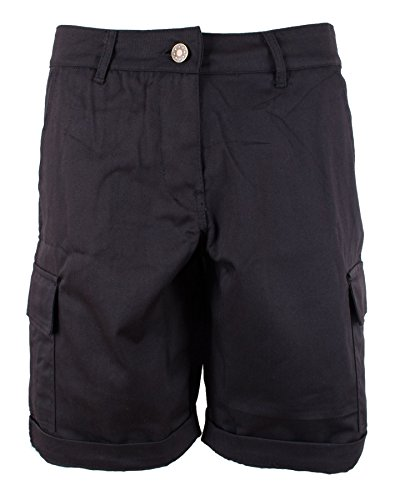 Damen Frauen Baumwoll 3/4 Chino Shorts kurze Hosen