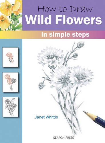 How to Draw: Wild Flowers por Janet Whittle