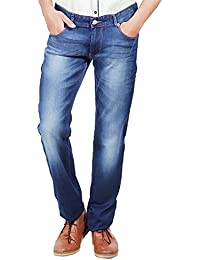 Numero Uno Blue Low Rise Slim Fit Jeans(Morice Fit) - B06XQYS253