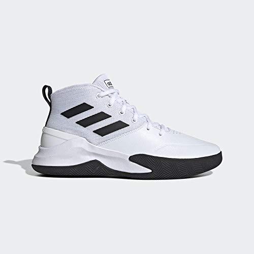 adidas Performance Ownthegame Basketballschuh Herren weiß/schwarz, 9.5 UK - 44 EU - 10 US