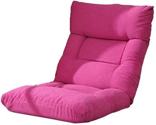 CMXSC Lazy Sofa, Folding faul Kissen Boden Stuhl Schlaf Computer-Stuhl-Bogen Fenster Wohnzimmer Stuhl Schlafsofa, Grün (Color : Black) | Wohnzimmer > Stüle > Wohnzimmerstühle | CMXSC