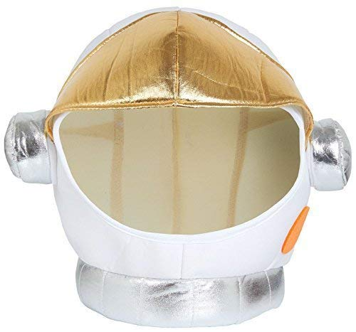 Stoff Astronaut Astronaut Helm Uniform Job Beruf Tv Buch Film Halloween Karneval Schicke Verkleidung Kostüm Hut ()
