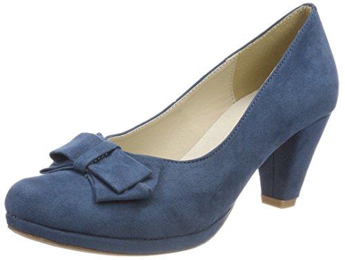 Andrea Conti Damen 1005718 Pumps, Blau (Jeans), 41 EU