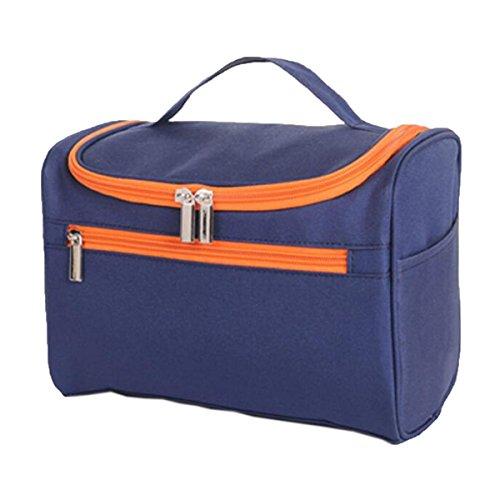 Jia Qing Bagagli Cosmetici Multifunzionali Portatili Bagagli Cosmetici Borsa Universale Cosmetica Grande Capacità Purple