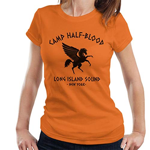 ed3ecf96b Cloud City 7 Percy Jackson Camp Half Blood Women's T-Shirt