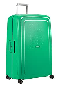 SAMSONITE S'Cure - Spinner 81/30 Hand Luggage, 81 cm, 138 liters, Green (Aloe Green/rio Blue)