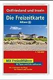 Die Freizeitkarte Allianz, Bl.3, Ostfriesland und Inseln -