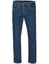 Lee Brooklyn recta Regular Fit Jeans para hombre azul L452AB46