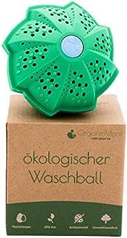 OrganicMom® Boule de lavage / savon de caillebotte sans huix personnes allergiques / Lavage sans détergent / L