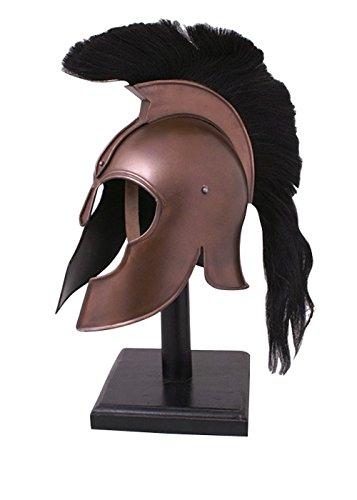 Griechischer Helm aus Troja mit Helmbusch - Antike - Griechenö