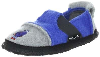 Nanga Robby, Jungen Flache Hausschuhe, Blau (39), 33 EU (1 Kinder UK)