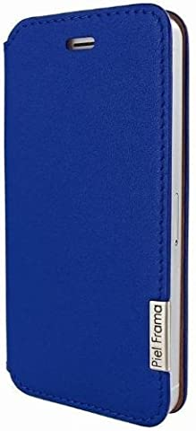 Piel Frama FramaSlim U639DB Etui en cuir pour iPhone 5/5S Bleu