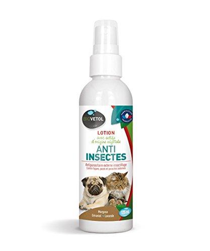 biovetol-Loción insectos 125ml-antipulgas para perro y gato