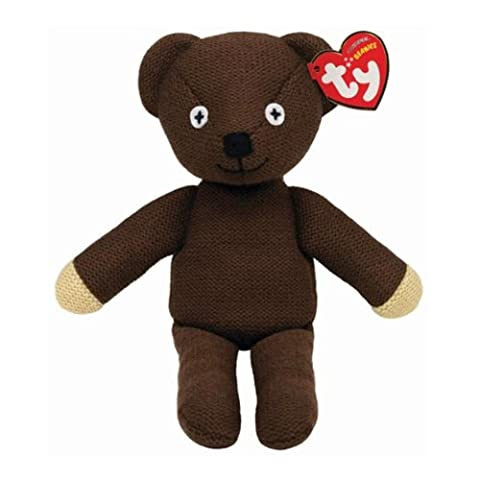 Ty Beanie Babies Mr Bean Teddy UK Exclusive
