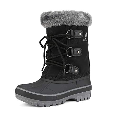 Dream Pairs Boys & Girls Warm Snow Boots Children Faux Fur-Lined Winter Boots (Toddler/Little Kid/Big Kid)