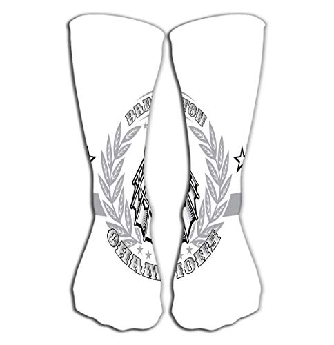 Xunulyn Hohe Socken Women Knee High Socks Novelty Compression Socks 19.7