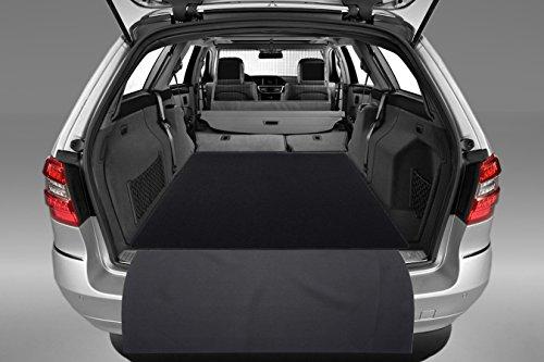 tuning-art 2604 Auto Kofferraummatte mit Ladekantenschutz 2-teilig