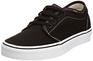 Vans U 106 Vulcanized, Baskets mode mixte adulte - Noir (Black/White) 34.5 EU , 2.5 UK , 3.5 US
