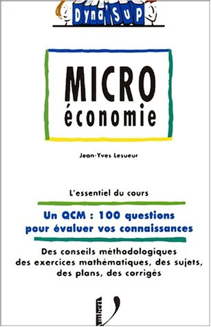La microéconomie