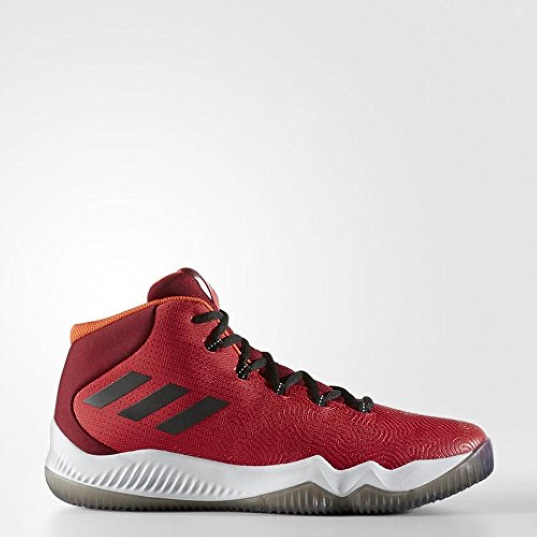 Adidas Crazy Hustle, Zapatos de Baloncesto para Hombre, Rojo (Escarl/Negbas/Buruni), 48 EU  -