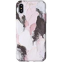 Coque iPhone 8 Plus / iPhone 7 Plus, Créativité Lumineux Peinture à l'huile Pattern Etui Housse, Antichoc Anti-Scratch Dur PC Back Panel pour Apple iPhone 8 Plus / iPhone 7 Plus (5.5 pouce) (Couleurs 15#)
