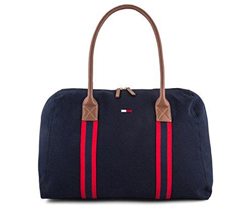 Tommy Hilfiger Damen Tasche Shopper Handtasche Zip Tote Bag navy new -