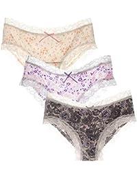 332923d431b5 Amazon.es: Ropa Interior Encaje Para Mujer - L / Culottes y Shorts ...