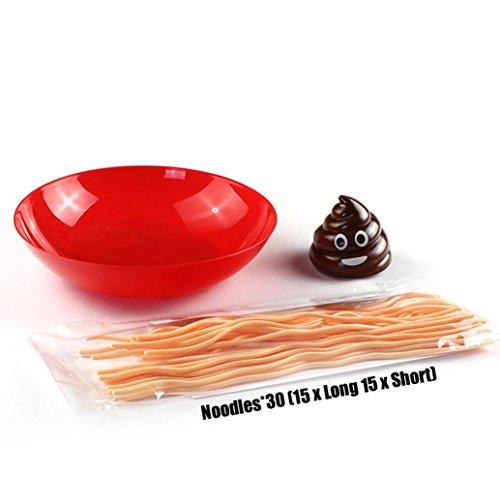 lzeug Interaktive Spaß Brettspiel Nudeln Spaghetti Balance Party Spiel (Schieben Kostüm)