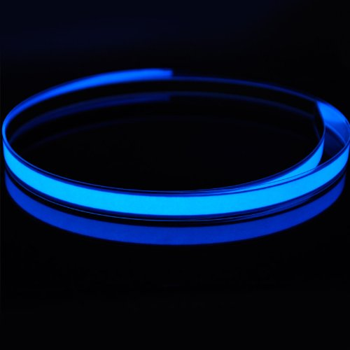amicc® 3ft 1m Neon Glowing stroboskopischer Electroluminescent Robbin EL Tape Gürtel -